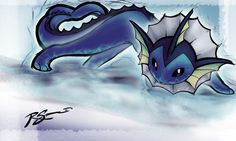 Vaporeon's Acid Armor by JA-punkster on @DeviantArt