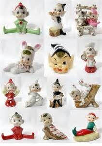vintage pixie figurines
