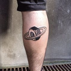 Eterno.  I wouldn't get this tattoo, but I love the idea and the bold, cartoony lines.
