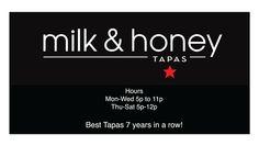 milk & honey // 30 WEST ANAPAMU SANTA BARBARA, CA 93101