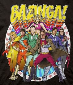 ¿Y si The Big Bang Theory fuera sobre superhéroes?... | Chilango.com