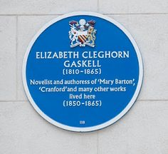 Elizabeth Gaskell House, Manchester Labels: Chorlton-on-Medlock, Gaskell (Elizabeth), Manchester (UK) Elizabeth Gaskell, Victorian Books, Manchester Uk, Salford, Yesterday And Today, North Yorkshire, The Republic, Book Nerd, Liverpool