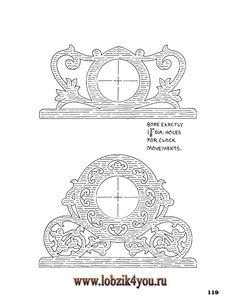 Художественное выпиливание .:. Classic Fretwork Scroll Saw Patterns (Sterling 1991 год)_120