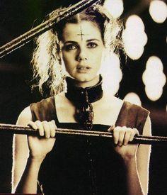 Mia Kirshner as Sarah in The Crow: City Of Angels (1996)  #miakirshner #thecrow  #beautifulwomen