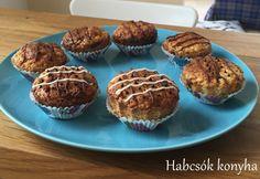 Citromos muffin nutellával töltve