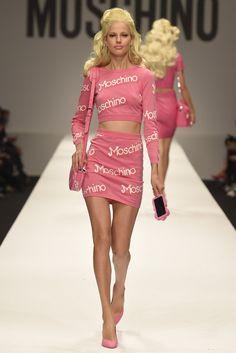 Moschino RTW Spring 2015 - Slideshow - Runway, Fashion Week, Fashion Shows, Reviews and Fashion Images - WWD.com