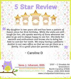 #PediatricDentistGreensboro