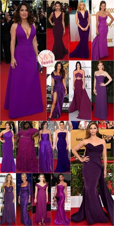 SOS Festa: vestido roxo!