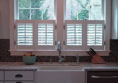 Interior Window Shutters With Fabric Inserts : Shutters with fabric inserts  ideas that strike my interest ...