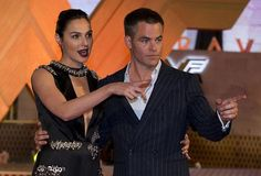 Chris Pine and Gal Gadot at the premiere of «Wonder Woman» in Mexico City, 27.05.2017