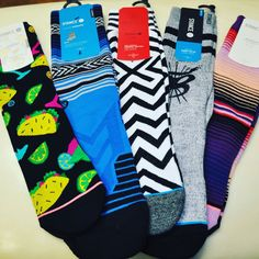 Need some last minute stocking stuffer ideas for the family? Well, OB Surf and Skate has tons of Stance Socks available for everyone on your list. Can we entice you with a pair of taco socks??