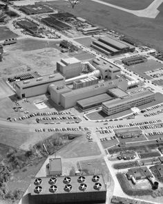 NACA-Lewis 10ft x 10ft Unitary Supersonic Wind Tunnel. The Unitary Wind Tunnel Plan Act of Congress, a post-war act, stipulated that NACA wind tunnels were to be made available to industry for testing. This push was to encourage the improvement of existing aircraft engines. This aerial view shows the size of the facility. The Lewis Center is now known as the John H. Glenn Research Center.