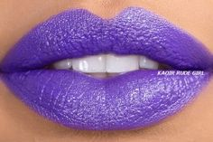 KAOIR RUDE GIRL Bright Purple Lipstick by KAOIR on Etsy, $15.99