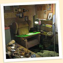 Roald Dahl's Writing Hut - Roald Dahl museum - Great Missenden - Buckinghamshire