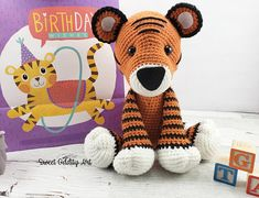 **PLEASE NOTE THIS LISTING IS FOR CROCHET PATTERN NOT ACTUAL TOY** this listing is for Talia the Tiger doll crochet pattern They measure 15 tall when using a D hook I recommend it as an intermediate pattern. The instructions are detailed and easy to follow if you know the basic