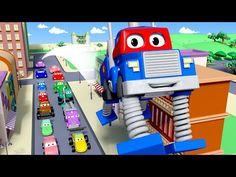 Minináklaďák - Karel Supernáklaďák ve Městě aut/ Animák pro děti - YouTube