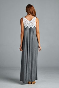 Bethany Dress in Charcoal | Women's Clothes, Casual Dresses, Fashion Earrings & Accessories | Emma Stine Limited