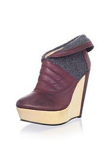 Messeca Women's Charmene Ankle Boot (Wine) - Darn! I missed the sale