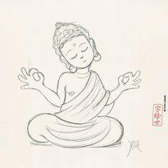 YO SOY MANE...!!!  child buddha tattoo - Google Search