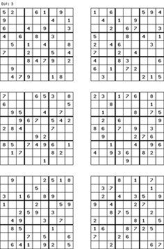 Free Sudoku Puzzles to Printable | printable sudoku grid
