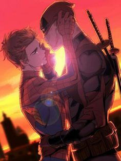 Your such an idiot wade...... Don't cry my Spidey. *sniffs* don't call me that. I'm still mad.....