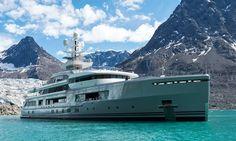 Built to take on the world the 72m @abekingyachts explorer yacht Cloudbreak is a sight to behold. Take a look inside on our website: boatinternational.com #superyacht #exploreryacht #megayacht #boatinternational