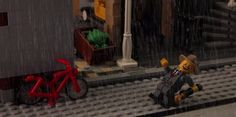 Singing in the Rain | 13 Classic Film Scenes Meticulously Recreated In Lego