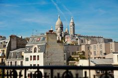 Stunning view of MONTMARTRE