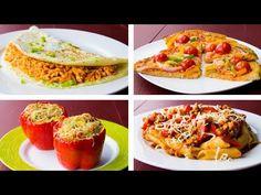4 Healthy Dinner Ideas For Weight Loss - # Fitness - Kalorienarme Rezepte Easy High Protein Meals, High Protein Vegan Recipes, Low Calorie Recipes, Healthy Chicken Recipes, Healthy Dinner Recipes, Healthy Snacks, Best Meal Prep, Vegan Meal Prep, Pasta Penne