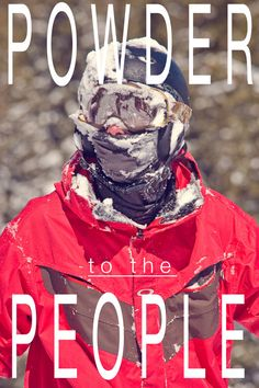 Hehe.. Looks like me after I went to fast down the hill :)