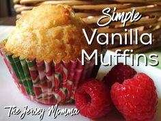 The Jersey Momma: Simple Vanilla Muffins