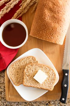9-grain Bread by Ice Cream Inspiration. This is not Wonder Bread. And thank goodness for that.