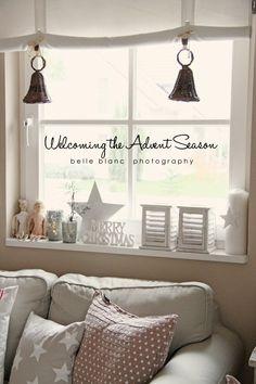 Mit liebe zum detail so ist es gem tlich winter pinterest liebe fensterb nke und - Wann weihnachtlich dekorieren ...