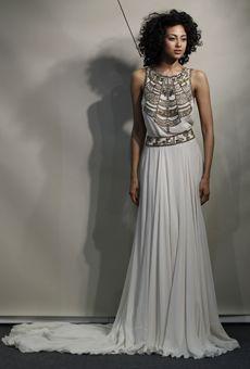 trend: greek? tribal?  new Amanda Wakeley dresses spring 2013