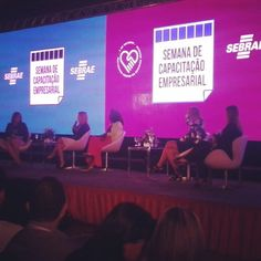 Missão do dia: debater empreendedorismo feminino. #sebrae #jogodedamas #empreendedorismofeminino