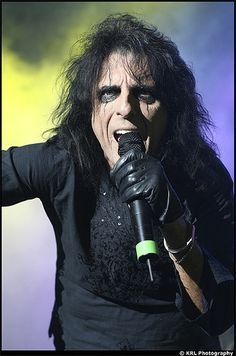 Alice Cooper has been rocking up the metal industry since the 1970's as the lead singer of his own band.