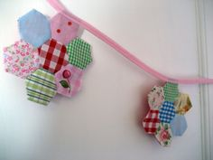 I made this last week. I needed a way to use my pretty fabric scraps!