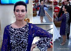 Look da Fátima Bernardes no Encontro dia 30 de abril