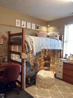 Elegant Diy Projects For Your Dorm Room Design. Below are the Diy Projects For Your Dorm Room Design. This post about Diy Projects For Your Dorm Room Design was posted under the category by our team at January 2019 at pm. Hope you enjoy it and . College Bedroom Decor, Cool Dorm Rooms, College Dorm Rooms, College Tips, Home Decor Bedroom, College Style, Online College, Awesome Bedrooms, Cozy Bedroom