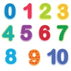 Preschool Number Wall Decals Baby and Toddler Number Stickers Number Stickers, Wall Stickers, Wall Decals, Numbers Preschool, Doodle Lettering, Typography, Toddler Rooms, Toddler Art, Love Wall