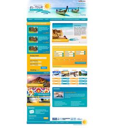 El Tour   Menu strona www, website, template, biuro podróży, travel agency Drupal, Travel Agency, Menu, Tours, Templates, Website Template, Menu Board Design, Stencils, Vorlage