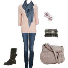 Ways to Wear My ... Pale Pink Sweater