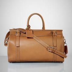 df7abb6c4caf Saddle Weekender Bag - Ralph Lauren Briefcases  amp  Folios - RalphLauren.com  Ralph Lauren
