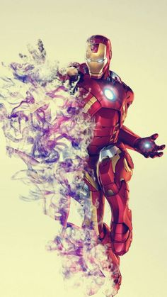 Genius billionaire inventor, industrialist, and CEO of Stark Industries Tony Stark builds an armored suit and becomes the armor-clad superhero named Iron Man. Marvel Films, Marvel Art, Marvel Characters, Marvel Heroes, Marvel Avengers, Ironman Tattoo, Marvel Comic Universe, Marvel Cinematic Universe, Iron Man Art