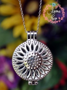 Love essential oils and hope to benefit from them all day? Aroma Fuse's jewelry will allow you to enjoy your own personal & wearable aromatic diffuser. Simply add a drop or two of essential oil to a provided, reusable insert and snap into the diffuser charm. Each diffusing necklace comes with 3 l...