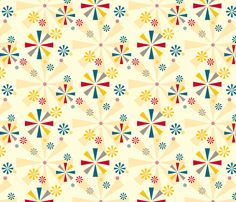 Circus Pinwheels fabric by pennycandy on Spoonflower - custom fabric