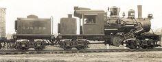 San Joaquin & Eastern RR #109 - c/n 1627 - Auberry, California Built 10/1922 - Std gauge - 70 tons - Class C - 3 Truck Climax