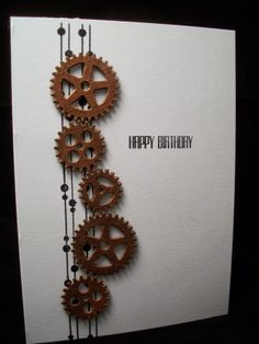 Craft-E-Place: Masculine card.....