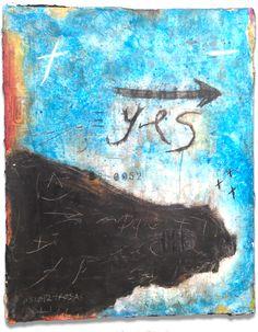 "Alfredo Scaroina  2012  Acrylic, , charcoal, Synthetic Polymer,black gesso, archival newsprint on canvas  16"" x 20"