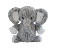 patchwork elephant knit pattern   Knitting Patterns Elephant   Knitting Patterns FreeKnitting Patterns ...